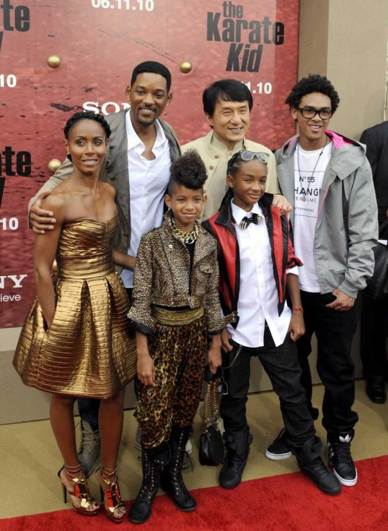 will smith family 2009. hairstyles will smith family