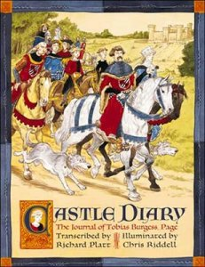 Castle Diary, The Journal of Tobias Burgess, Page as Transcribed by Richard Platt and Illuminated by Chris Riddell