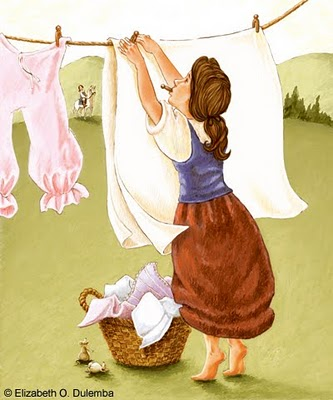 The gallery for --> Cinderella Doing Laundry