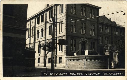St Joseph's in the 1940s - click on the image to be taken to the websource