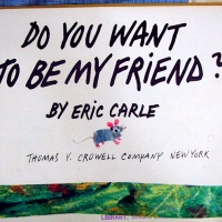 A Wordless Tale of Tails and Friendship: Eric Carle's Do you want to be my Friend?