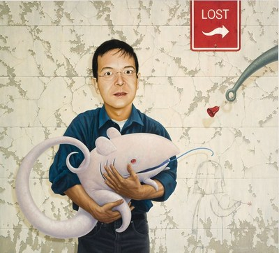 This portrait of Shaun Tan is taken from Cheryl Rain Field's Blog. Painting by Nick Stathopoulos. Click on the image to be taken to the websource.