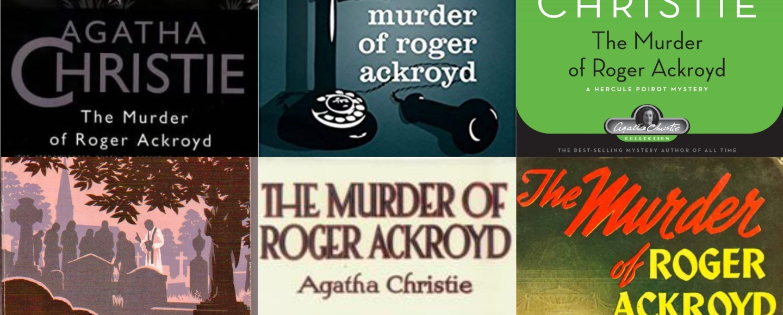 Agatha Christie's The Murder of Roger Ackroyd – Gathering Books