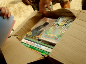 We donated 1000 books to 4 schools during our first Blogiversary in 2011.