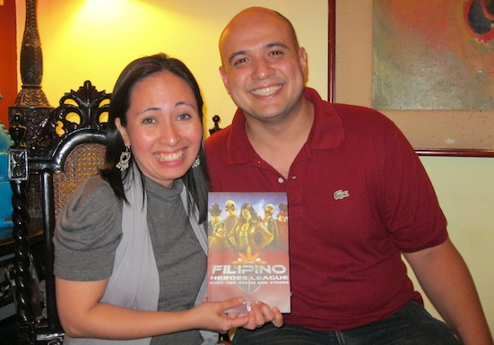 With Paolo and his Graphic Novel