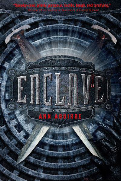 Enclave by Ann Aguirre sent by Macmillan Children's Publishing