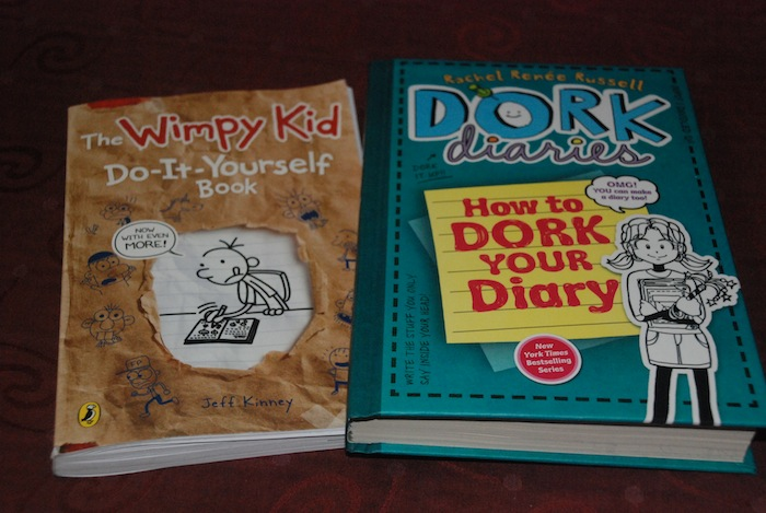In my mailbox 17 goosebumps 39 clues wimpy and dork diaries she has the entire wimpy kid collection and she literally squealed in delight when she found another do it yourself book this is the solutioingenieria Images