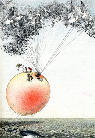 Tuesday roald dahl s james and the giant peach gathering books