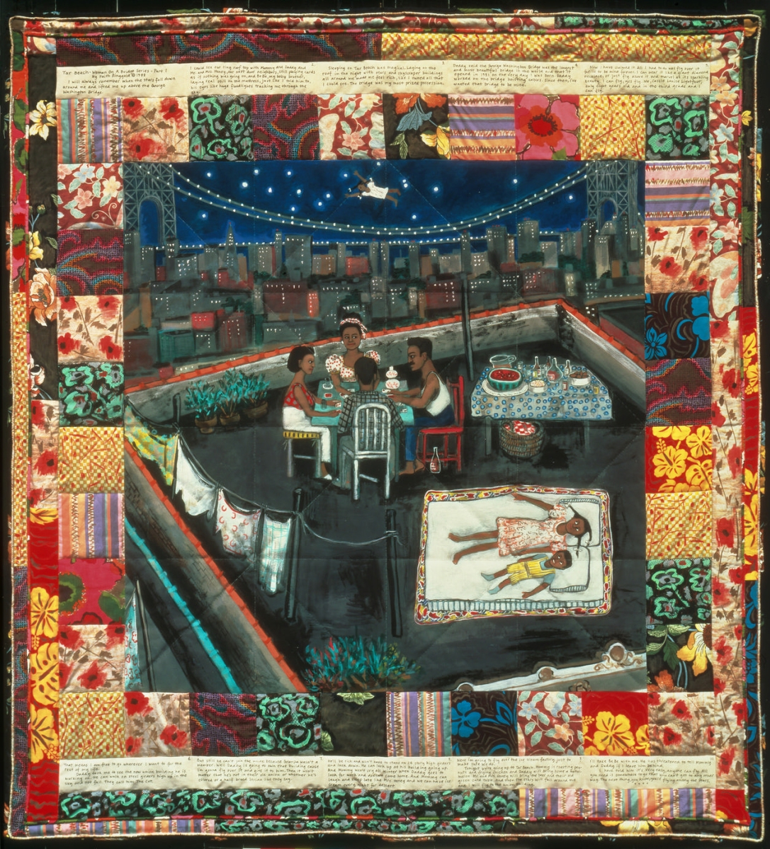 Flying Among the Stars in Faith Ringgold's Tar Beach