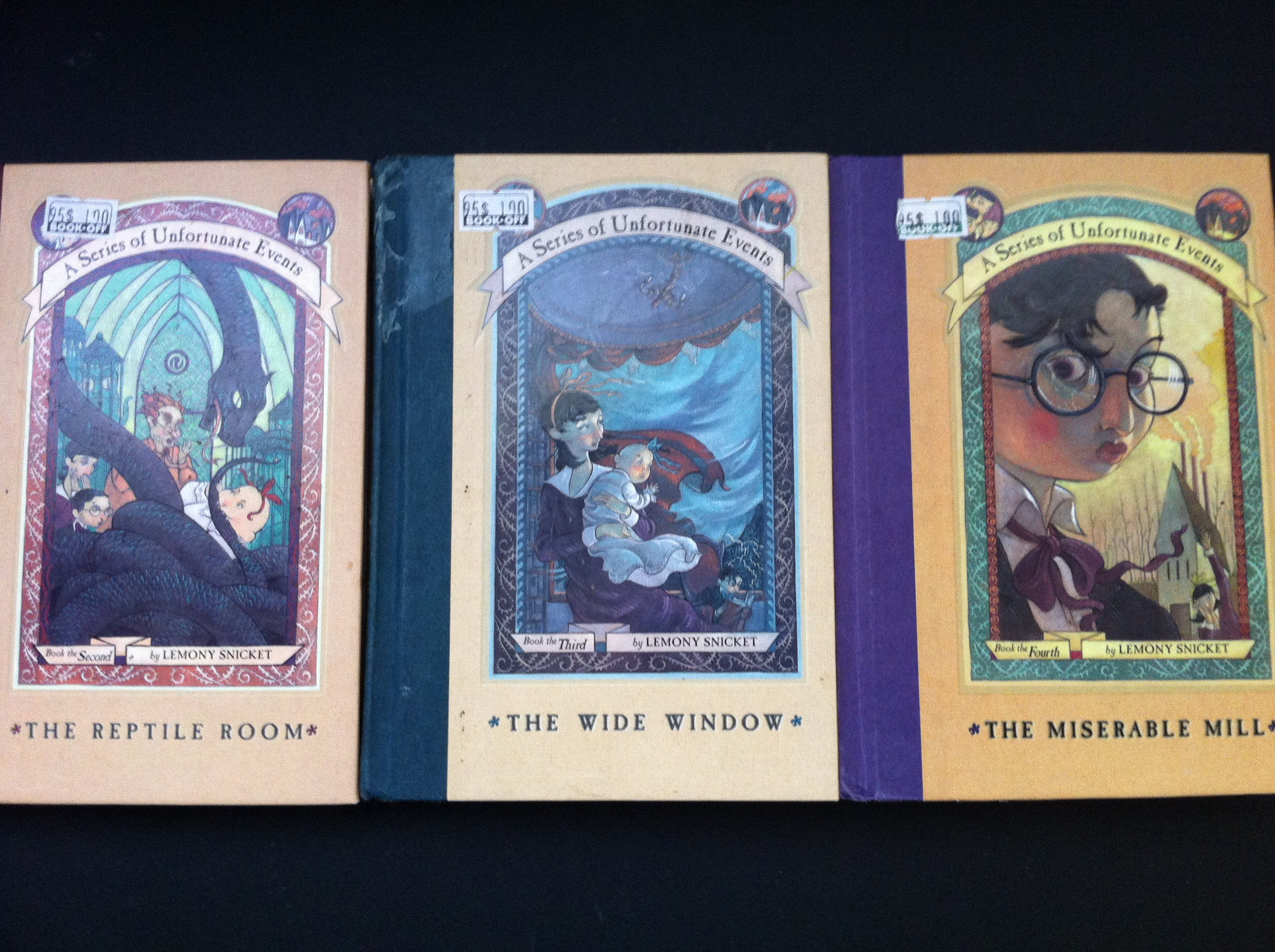A Series Of Unfortunate Events (books 24) By Lemony Snicket €� $1 Each