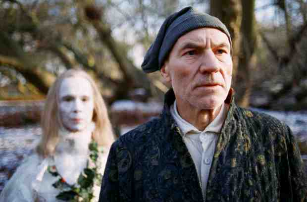 Patrick Stewart as Ebenezer Scrooge in the 1999 film adaptation of Hallmark Entertainment. Click on the image to be taken to the websource.
