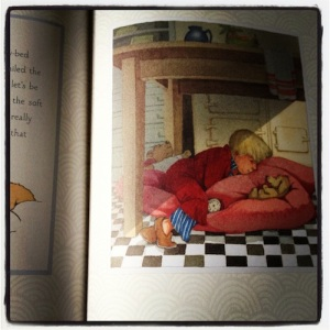 From Charley's First Night by Amy Hest and Helen Oxenbury