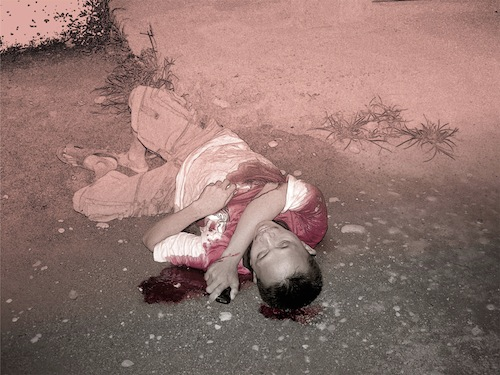 1. Red, 2010, by Danny C. Sillada
