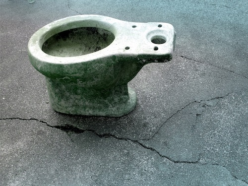 12. The Immortality of Toilet Bowl, 2012, by Danny C. Sillada
