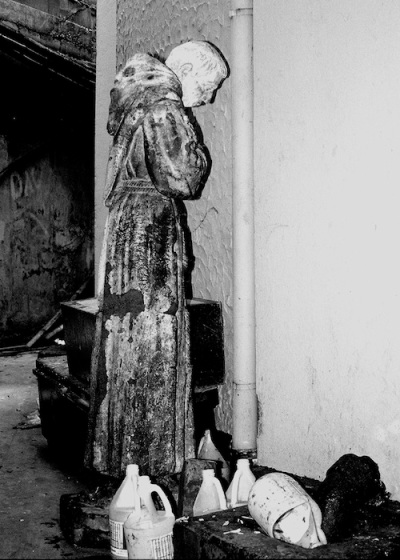 Early Work: Abandoned Saint, 1986, by Danny C. Sillada