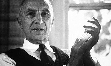 William Carlos Williams at home. Photograph: Lisa Larsen/Time & Life Pictures/Getty Image - click on the image to be taken to the websource.