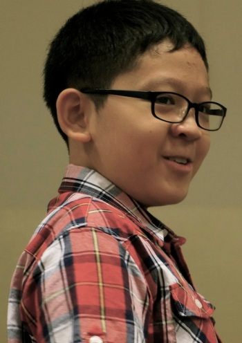 another young author Caleb Loh