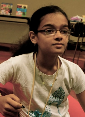 Malavika, 12 years old