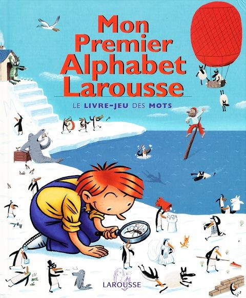 1 Mon Premier Alphabet Larousse Cover