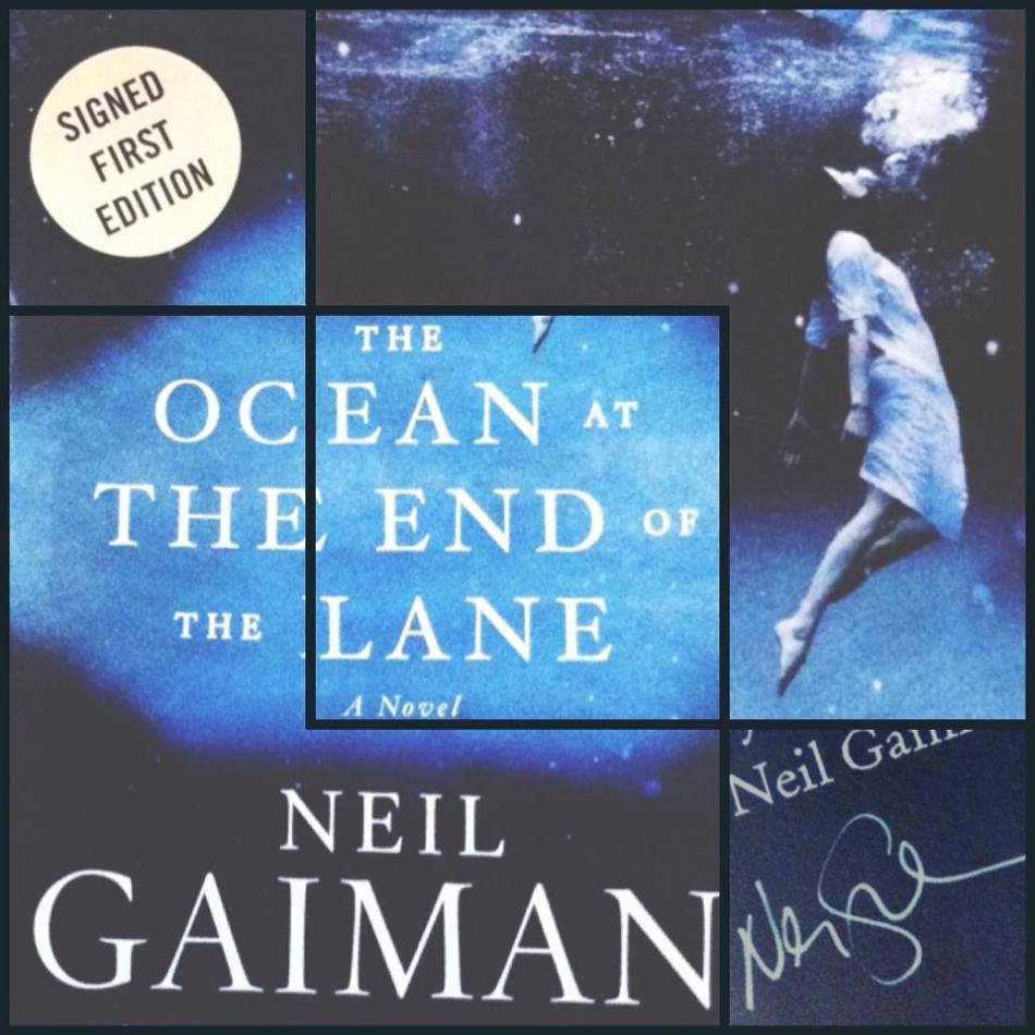 A photo collage I made because I love Neil Gaiman so much. =)