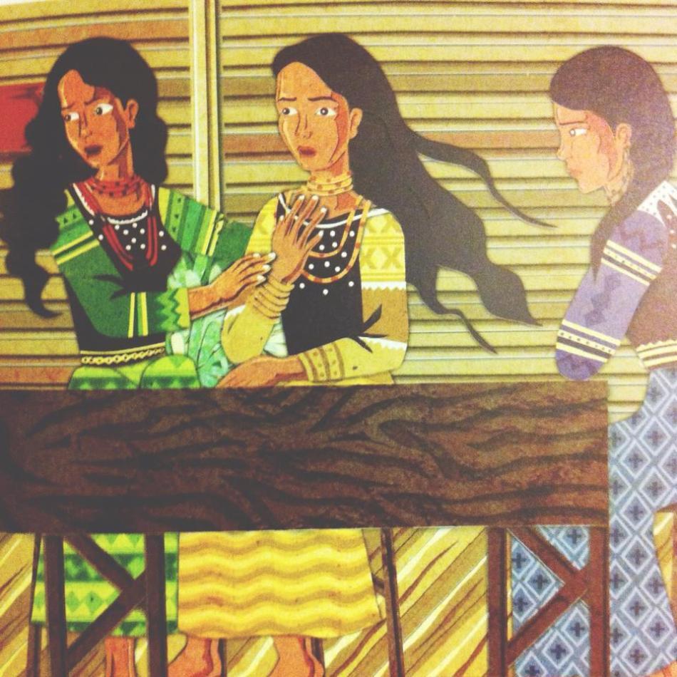 Artwork by Frances Alcaraz