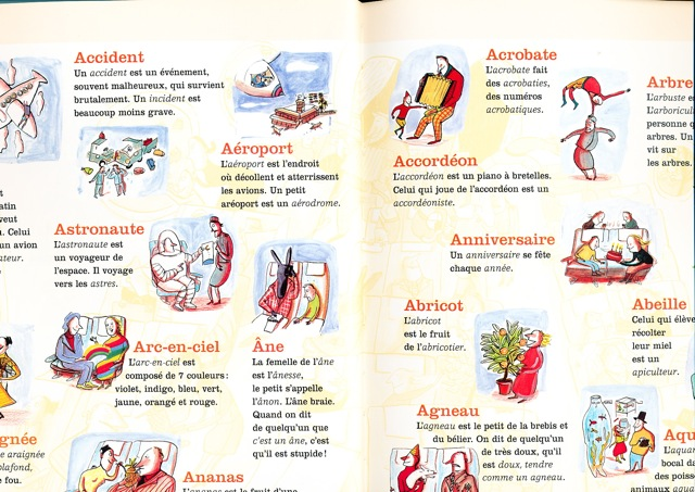3 Mon Premier Alphabet Larousse words with A