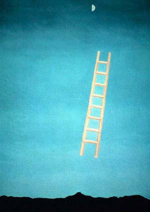 Georgia O'Keeffe's Ladder to the Moon