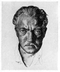 Self-portrait of Gustaf Tenggren. Click on the image to be taken to the websource and the artist's official website.