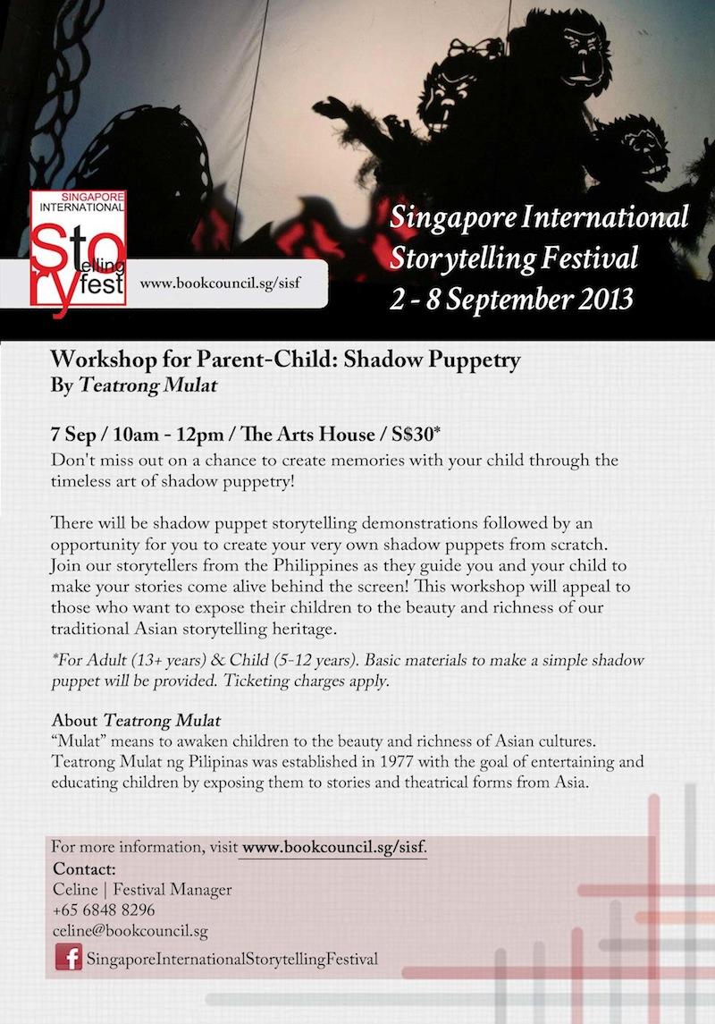 SISF 2013 Puppet Workshop