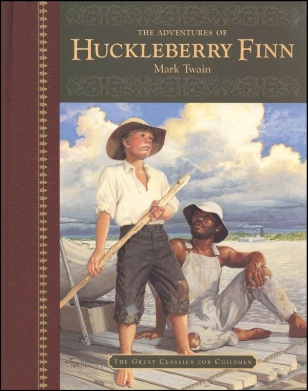 "why huck finn shouldnt be banned ""huckleberry finn"" is suited to a college course in which twain's obsession with the 19th-century theater of american hucksterism — the wastrel west, the rapscallion south, the economic."