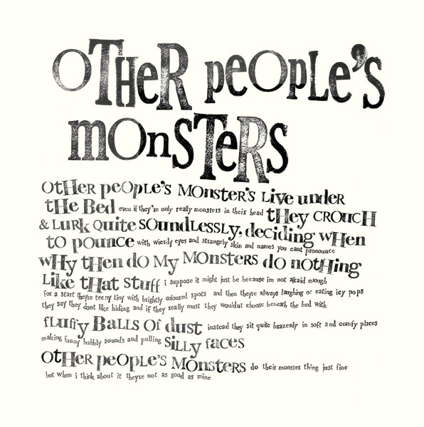 Screenprint poem by Rachel Bright. Click on the image to be taken to the websource.