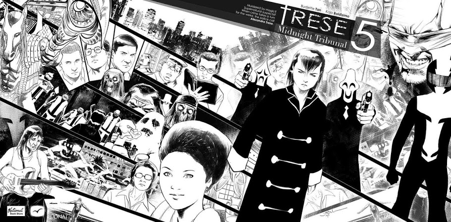 Click on image to be taken to Trese's Official Site. Illustrations done by Kajo. Shared here with permission.
