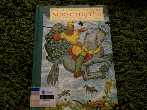 https://gatheringbooks.wordpress.com/2013/12/30/monday-reading-daulaires-norse-and-greek-myths/