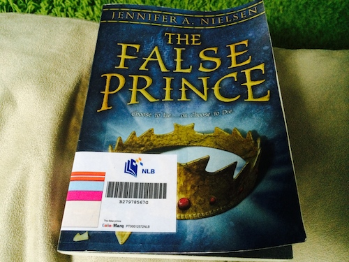 the false prince journal The false prince stands well alone with a satisfying conclusion, though it is the first part of nielsen's planned ascendance trilogy the next book, the runaway king, is expected in march 2013 reviewed by : gpb.