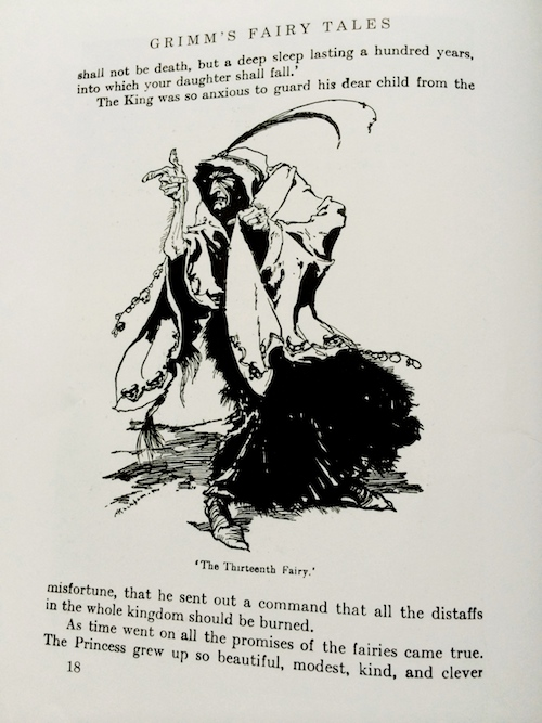 The Thirteenth Fairy in which fairytale?