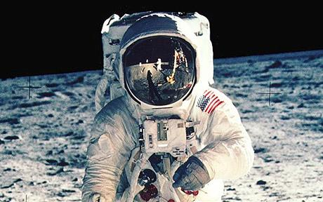 From the Apollo 11 mission. Click on the image to be taken to the websource.