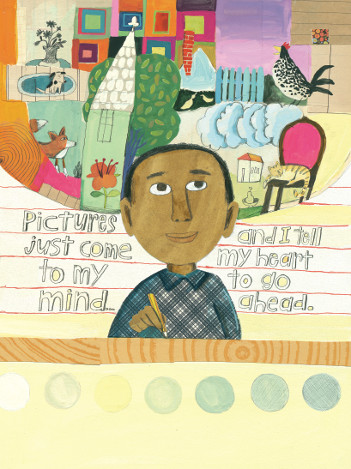 Click on the image to be taken to an interview with illustrator Melissa Sweet by Kirkus Reviews.