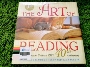 https://gatheringbooks.wordpress.com/2014/03/15/art-of-reading-forty-illustrators-reimagine-their-favorite-childhood-books/
