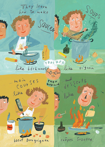 Click on the image for this feature on Julia Child's 100th birthday.