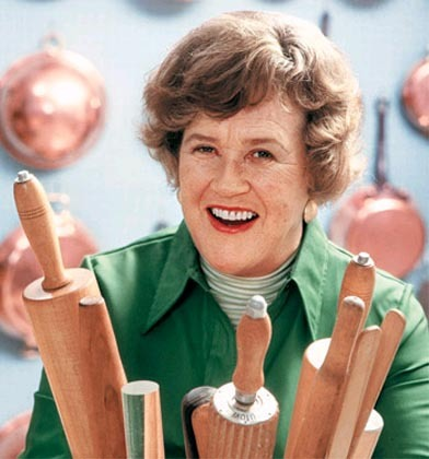 "Click on the image to see Julia Child's ""Little House in Cambridge,"""