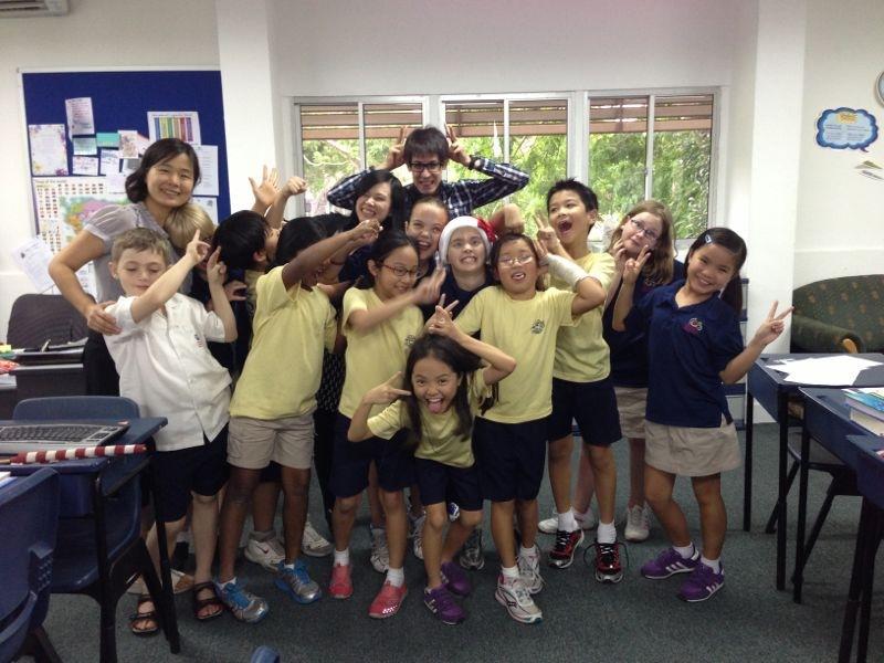 At International Community School