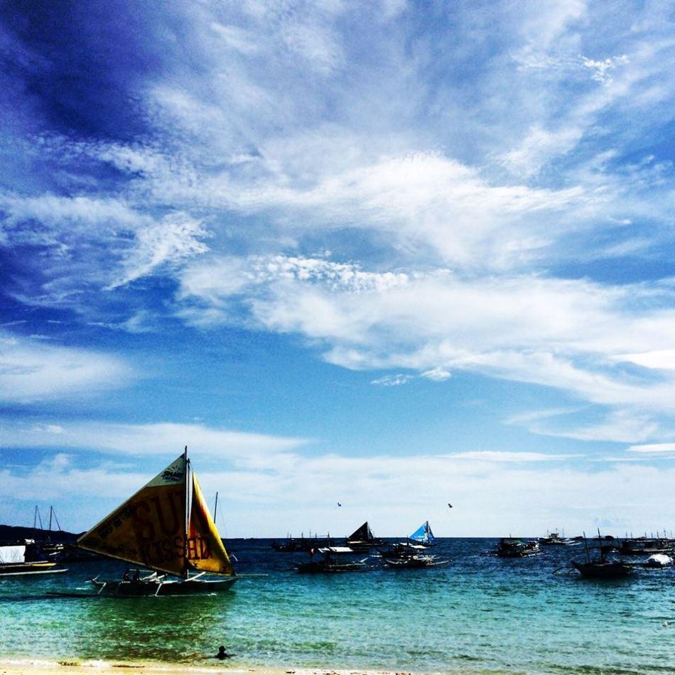Taken in Boracay using my iphone camera