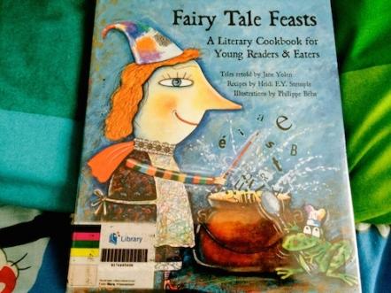 https://gatheringbooks.wordpress.com/2014/06/14/saturday-reads-fairy-tale-feasts-a-literary-cookbook/