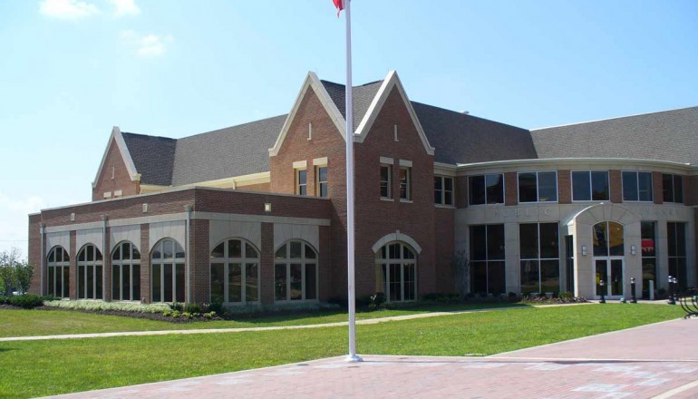 This is the main branch of the Wayne County Public Library where I'll be working. If you happen to be in Wooster, Ohio, drop by and say hello.