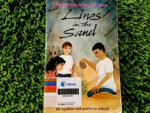 http://gatheringbooks.org/2014/08/29/poetry-friday-lines-in-the-sand-new-writing-on-war-and-peace/