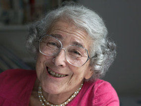 The lovely and spunky Judith Kerr.