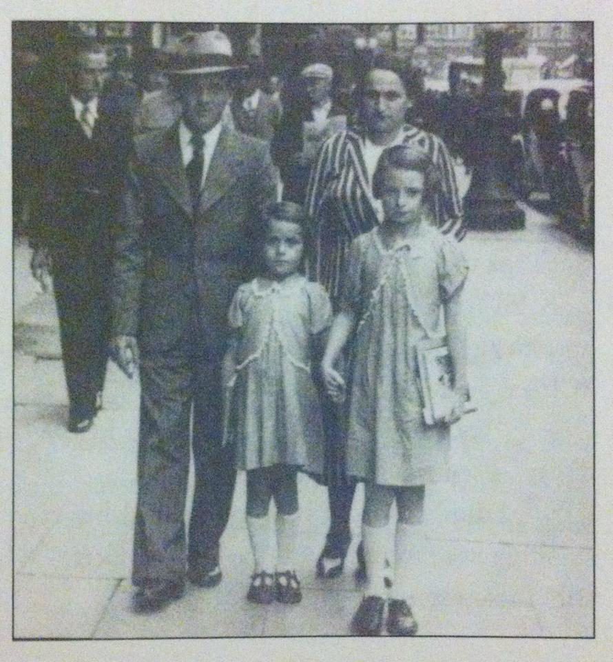 Edith and her family. Photo taken from the book.