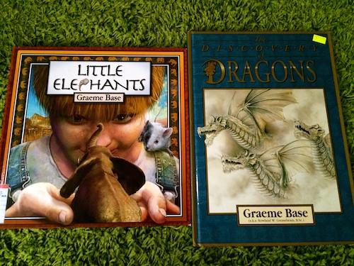 https://gatheringbooks.org/2014/11/03/monday-reading-graeme-bases-dragons-and-elephants-fantasia-special/