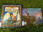 http://gatheringbooks.org/2014/12/01/monday-reading-voyages-to-the-fringes-of-fantasy-the-legend-of-the-golden-snail-and-quest/
