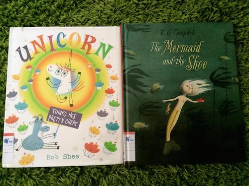 https://gatheringbooks.org/2014/12/15/monday-reading-of-unicorns-and-mermaids/